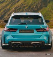BMW M3初のツーリング、市販デザインを大予想!登場は2021年内か? - BMW M3 Touring_003
