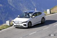 VWパサート後継モデル が初出現! EVセダン「エアロB」市販型をスクープ - Spy shot of secretly tested future car