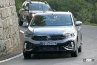 VW T-Rocが大幅改良へ。ちょっとオシャレな「R Line」をキャッチ - VW T-ROC R-Line facelift 10