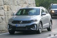 VW T-Rocが大幅改良へ。ちょっとオシャレな「R Line」をキャッチ - VW T-ROC R-Line facelift 11