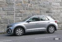 VW T-Rocが大幅改良へ。ちょっとオシャレな「R Line」をキャッチ - VW T-ROC R-Line facelift 13