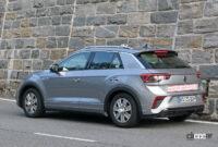 VW T-Rocが大幅改良へ。ちょっとオシャレな「R Line」をキャッチ - VW T-ROC R-Line facelift 15