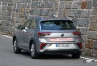 VW T-Rocが大幅改良へ。ちょっとオシャレな「R Line」をキャッチ - VW T-ROC R-Line facelift 16