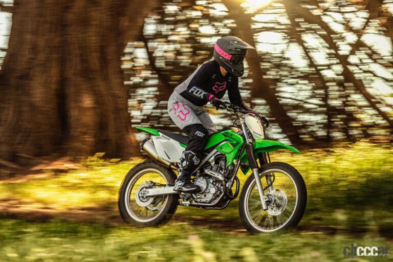 カワサキがオフロード専用バイク新型KLX230R S発売