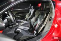 フェラーリ296GTBの内装05