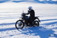 ロイヤルエンフィールドがバイク世界初の南極走破プロジェクト