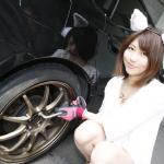【動画】タイヤ交換をしてみました【私にもできた】その1 - 小栗葉子1