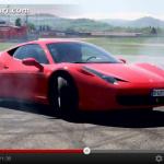 Facebookフォロー800万人記念、フェラーリ流の感謝の表し方【動画】 - 458_youtube