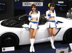 """【オートサロン】2011年2月発売!! """"彩速""""をテーマにした、ケンウッドの『最新カーナビ』&『彩速ガール』たち のパーマリンク"""
