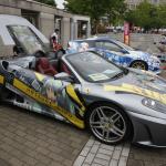 久喜で彩の国おたからまつり開催。埼玉のB級グルメや痛車も登場しました - ミクフェラーリ2