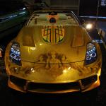 タイヤをドレスアップする新感覚スプレー【名古屋オートトレンド2011】 - 名古屋オートトレンドペイントスター01