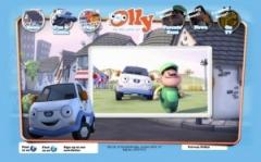 クルマ版機関車トーマスのようなアニメ「Olly The Little White Van」は「カーズ2」とは目が違います のパーマリンク