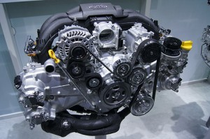 Brz Engine X on Subaru Boxer Engine 4