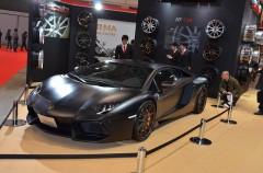 スポーツ選手の愛車と言えばアヴェンタドール!【東京オートサロン2012】