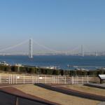 1000円高速終了前に利用したい最近知った高速道路サービスエリアのいいところを紹介します - 淡路SAからの明石海峡大橋