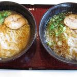 1000円高速終了前に利用したい最近知った高速道路サービスエリアのいいところを紹介します - 玉葱ラーメン味噌(左)と醤油(右)