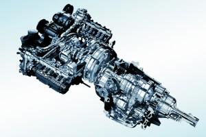 新型レガシィのCVTはエンジンに...