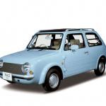 Be-1、パオ、フィガロ 日産パイクカー3兄弟の型式が何か知ってますか? - PK10