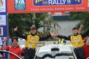 マレーシアをクラス優勝プロトンクスコラリーチーム