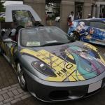 久喜で彩の国おたからまつり開催。埼玉のB級グルメや痛車も登場しました - ミクフェラーリ1