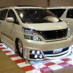 TSY-Factoryのヴェルファイア「光の宝石箱」はLEDがスゴいことになってた! - TSY-Factory札幌カスタムカーショー2012_05
