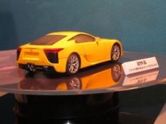 【大阪オートメッセ2011】タミヤの1/24レクサスLFAはこのサイズにして5250円とかなり高額なほうですが、作りのこだわりもかなりです のパーマリンク