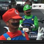 リアル・マリオカートしてみました!【X-Kart@渋谷・原宿・表参道】 - mario5