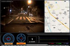 ナイトドライブもクリアに録画できます