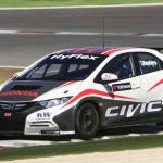 世界を相手に闘うシビック・レースカーがシェイクダウン! - wtcc_civic_test001