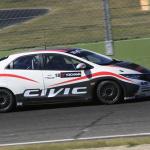 世界を相手に闘うシビック・レースカーがシェイクダウン! - wtcc_civic_test004